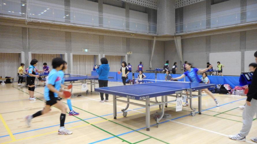 2019年11月20日(水) 多摩 ダブルスPリーグ卓球大会