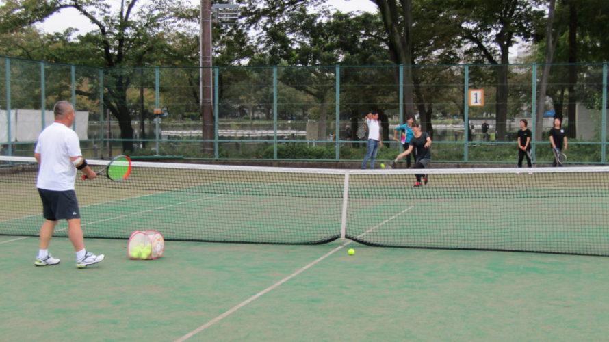 2019年10月19日(土)テニス交流会 開催しました!
