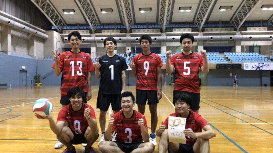 2019年 第6回6人制男女バレーボール大会 結果