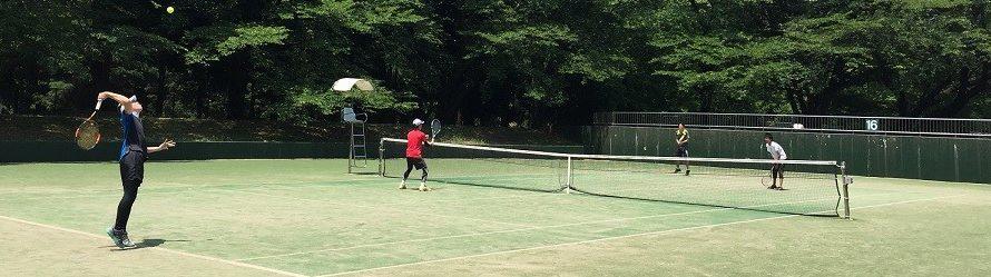 2021年3月14日(日)新春オープンテニス大会(野川公園)