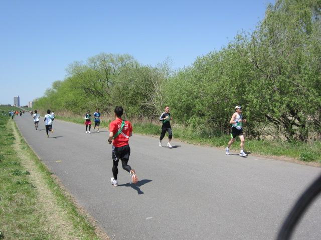 誰でも走れる 月例・赤羽マラソン