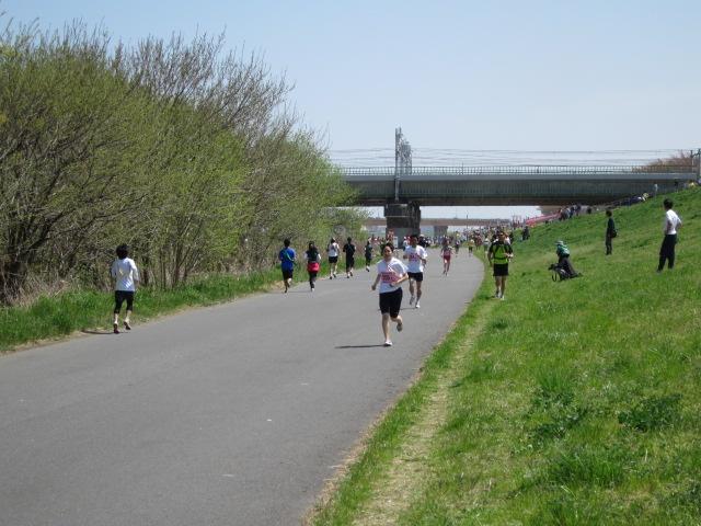 誰でも走れる 月例・多摩川ロードレース